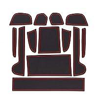 に適用 新型 ホンダ Honda フィットGR系 FIT 2020~ 現行 4代目 GR1/2/3/4/5/6/7/8型 専用 ダッシュボードカバー ダッシュマット車内 内装 日焼け防止 ダッシュボードライト保護マット32H~ (赤)