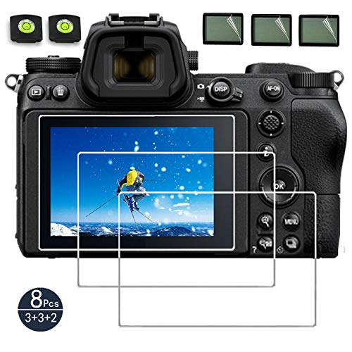 debous Screen Protector Compatible Nikon Z7 Z6 II Z 6II Z 7II FX-Format Mirrorless Camera,Anti-scratch Tempered Glass Clera Hard Protective Film Shield Cover (3pack)