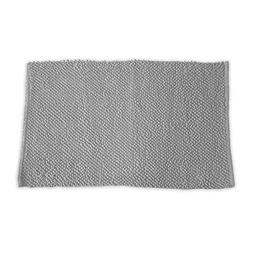 Today Tapis Bubble, 100% Coton, Gris Clair, 80x50 cm