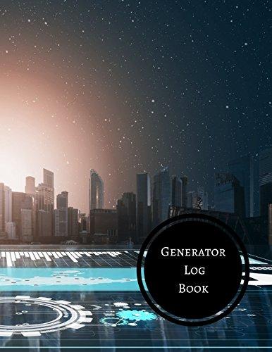 Generator Log Book: Generator Maintenance Log