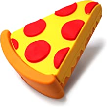 JACK CHLOE Emoji Stuff Pizza Slice Portable Charger, Super Cute Emoji Pizza Power Bank Design, 2600mAh Emoji Charger Compatible with iPhone X / 8/7 / 7Plus / 6/ 6s Plus/Android Phone