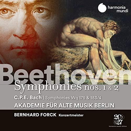 Sinfonien 1 & 2/Sinfonien Wq 175 & 183/4