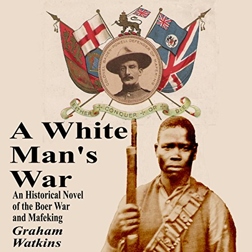 A White Man's War audiobook cover art
