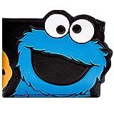 Cartera de Designs UK Sesame Street Cookie Monster Multicolor