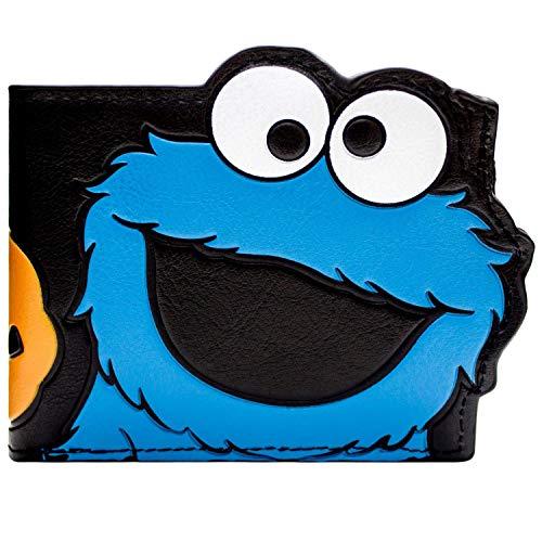 Sesame Street Cookie Monster Mehrfarbig Portemonnaie Geldbörse