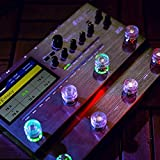 MOOER Candy Series Transparent Clear Guitar Footswitch Toppers