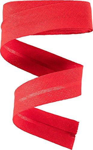Blende T/ürkis hell 40 mm // Baumwolle Schr/ägband // Textilband 10 Meter