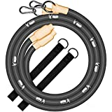 Gronk Fitness Inertia Wave Workout Ropes | Heavy Battle Rope Alternative for Strength Training | Rubber Battle Ropes | Elastic Battle Ropes for an Abdominal Workout