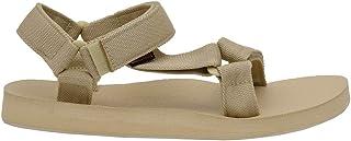 CUSHIONAIRE Women's Summer Yoga Mat Sandal with +Comfort Natural, 7