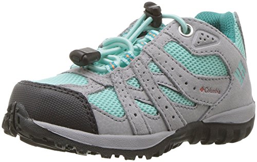 Columbia Childrens Redmond Waterproof, Zapatillas de Senderismo Unisex Niños, Gris (Gulf Stream,...