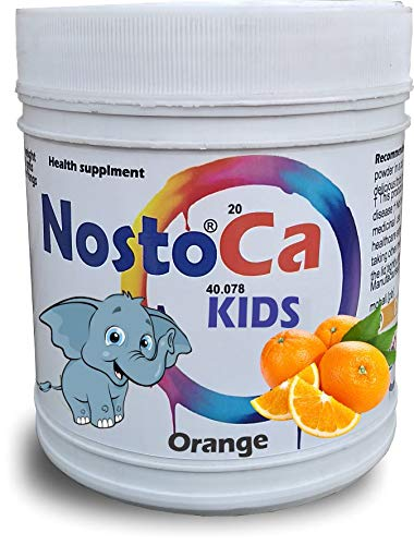 Develo Calcium Vitamin D3 Nutrition Supplement For Kids For Strong Bones & Teeth In Children [30 Servings] Orange NostoCa 600 Gm