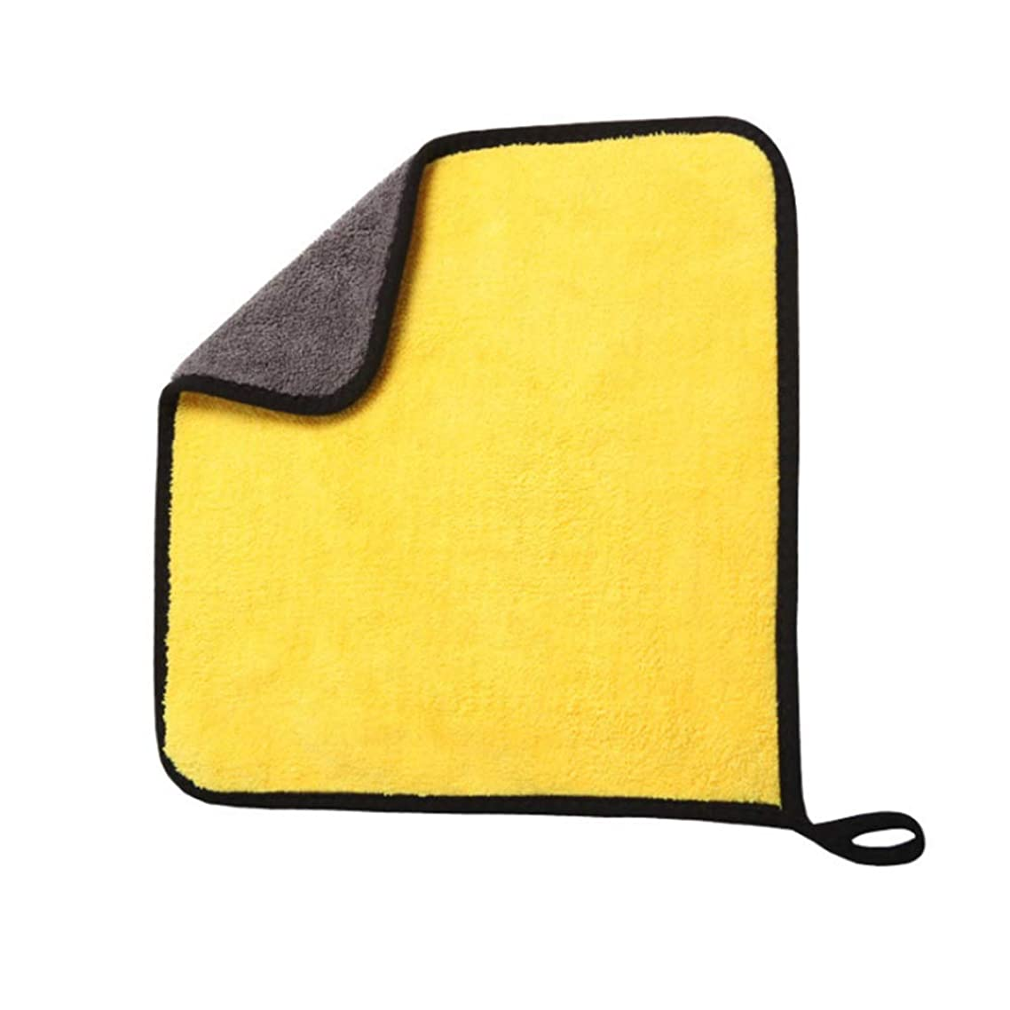 ZFW Cleaning Cloth Car Wash Towel Thickening Water-Absorbing Supplies Double-Sided High-Density Large Lint Strong Decontamination