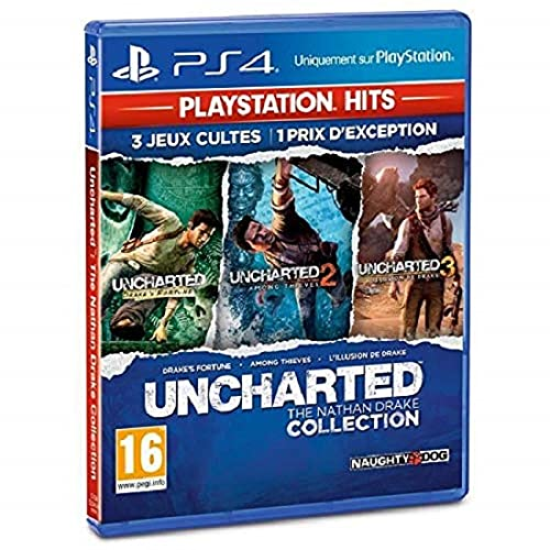 Uncharted : The Nathan Drake Collection HITS [Edizione: Francia]