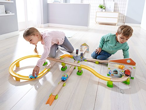 HABA 303082 Kullerbü – Spielbahn Stadtbummel, Kleinkindspielzeug - 5