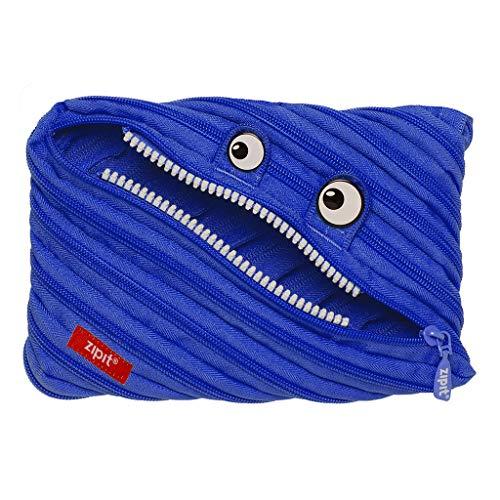 ZIPIT Monster - Estuche para lápices, color azul L