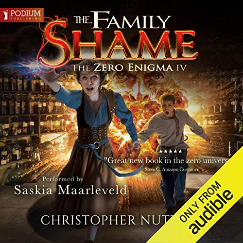 The Family Shame audiobook cover art