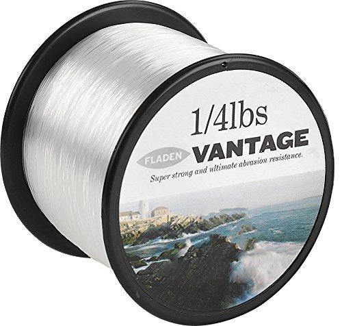 FLADEN - Rollo de hilo monofilamento extrafuerte para carretes de pesca Vantage Pro, 113 g. Color transparente y marrón. Disponible con cargas de rotura de 1,4 kg, 2,7 kg, 4,5 kg, 5,4 kg, 6,4 kg, 8,2 kg, 10,4 kg, 12,7 kg, 15,9 kg, 20,4 kg y 24,9 kg, transparente, 14lbs - 952m - 0.35mm