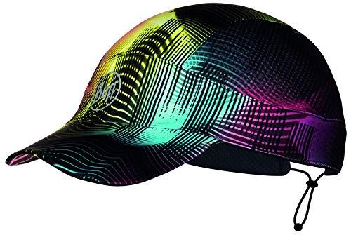 Buff Pack Run Cap mehrfarbige Schirmmütze zum Laufen | UV-Schutz | Joggen | Sportmütze | Sport-Kappy + Ultrapower Schlauchtuch | Laufkappe | Schirmmütze Pack Run Cap - Grace Multi - 119501.555.10.00