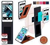 Hülle für Oppo Mirror 5s Tasche Cover Case Bumper | Braun