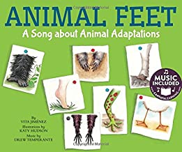 Animal Feet: A Song about Animal Adaptations (Animal World)