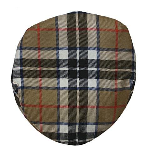 Lochcarron of Scotland Tartan Barnton Casquette Plate – Premium Qualité, Disponible en Grande variété de Tartans et de Tailles différentes - - Large