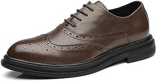 [Donahutt03] ビジネスシューズ 結婚式シューズ 通気 防滑 透かし彫り ブロッケンシューズ 事務所 ブラウン おしゃれ フォーマル ドレスシューズ 紳士靴 歩きやすい