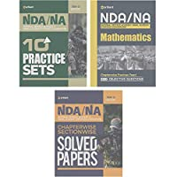 NDA & NA Guide ,NDA NA 10 Practice Sets & Chapterwise Solved Paper (National Defence Academy & Naval Academy) Hindi (Set of Books)