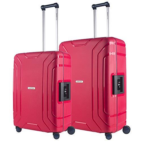 CarryOn Steward - Juego de 2 Maletas rígidas Rojo roja. 2 teilige Set - 75 & 65cm