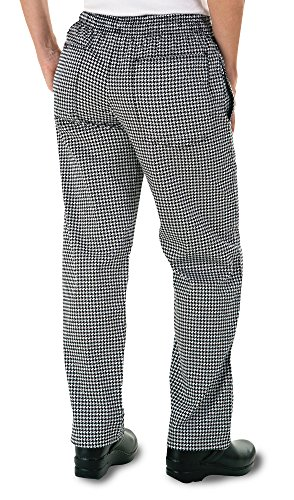 ChefUniforms.com Women's Houndstooth Chef Pant (XS-3X) (XX-Large)