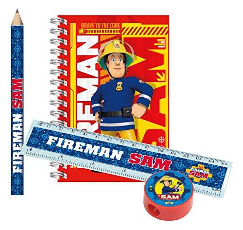 amscan 9902188 Feuerwehrmann Sam Schreibset