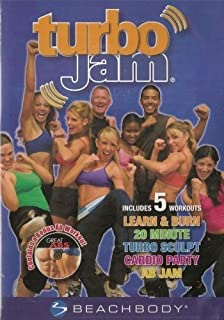 Turbo Jam 2-disc Set Includes 5 Workout Routines