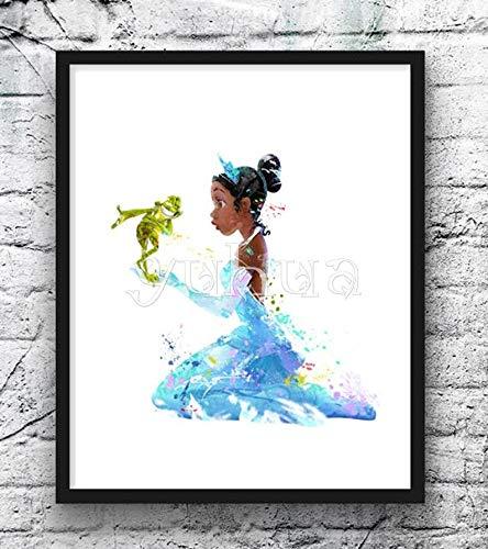 SBNKYQSL 5d Diamant malerei Hollywood Film Charakter Cartoon Prinzessin Yoga Tier superheld kreuzstich Stickerei mosaik Farbe 20 * 25 cm