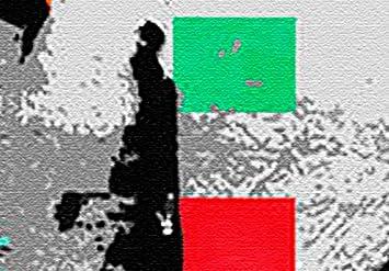 murando Cuadro en Lienzo 90x60 cm Banksy 1 Parte Impresi/ón en Material Tejido no Tejido Impresi/ón Art/ística Imagen Gr/áfica Decoracion de Pared Street Art g-B-0029-b-a