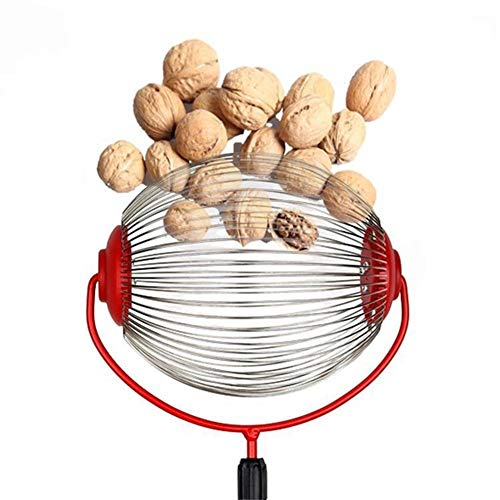 Apple Collector, Adjustable Roll Collector Large Original Nut Collector Collector with Telescopic Stick for Walnuts, Plums, Lawn Garden