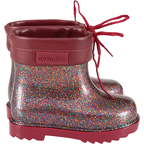 Mini melissa - Stiefel Rossi - für Kinder, Rot 24