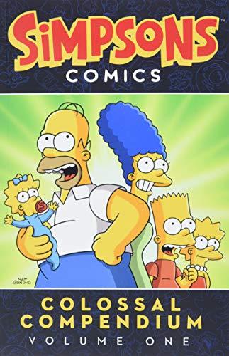 Simpsons Comics Colossal Compendium Volume 1 (Simpsons Comic...