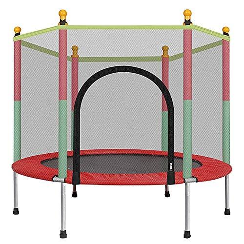 Adult Fitness Belt Net Family Trampoline, Children Outdoor Bounce Bed Toys Thickening Steel Tube Bearing Strong Anti-Skid Mini Plegable Salto Seguridad