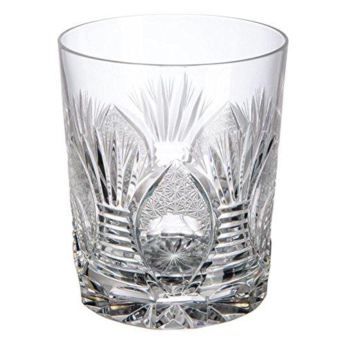 Cristal de Bohemia Lada Vasos Bajos, Cristal, 8.5x8.5x10 cm, 6