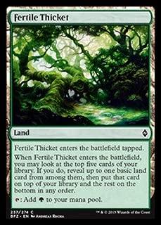 Magic: the Gathering - Fertile Thicket (237/274) - Battle for Zendikar
