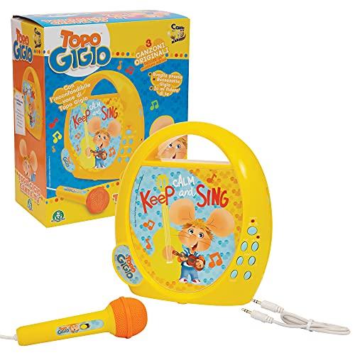 Giochi Preziosi, Canta Ovunque con Topo Gigio e Le Sue 3 Canzoni Originali Incluse, con Accessori, TPG27000