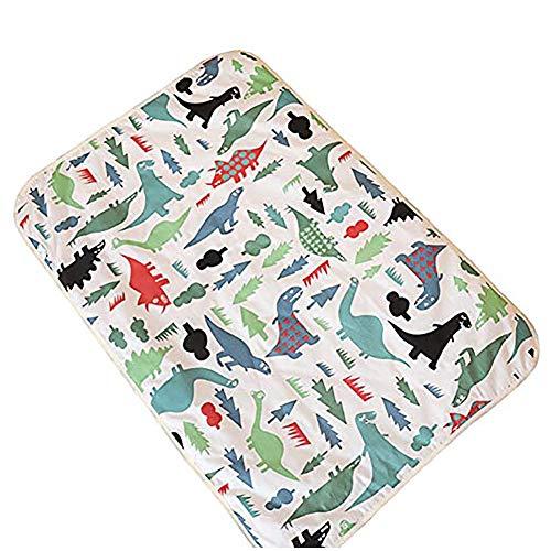 Naisicatar lavable colchón impermeable Protector de hojas Cama Underpad suave y absorbente de orina de ratón para el bebé del niño de niños y adultos con incontinencia 60 * 90 cm del bonito regalo