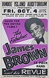 CLASSIC POSTERS James Brown Foto-Nachdruck eines