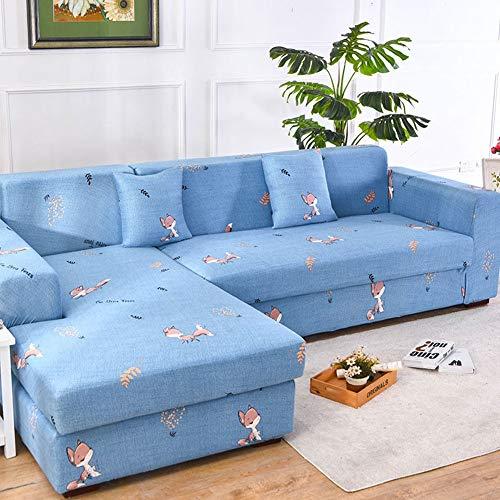 Funda de Sofá Suave Elástica para 1/2/3/4 Plazas,Fundas de Sofá con el Mismo Tipo de Funda de Almohada,Fundas para Sofá Protectoras de Muebles para Sala de Estar(Color:G,Size:3-Seat(190-230cm))