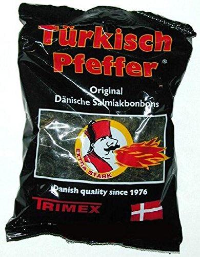 20 x TRIMEX TÜRKISCH PFEFFER 400g LAKRITZ Incl. Goodie von Flensburger Handel