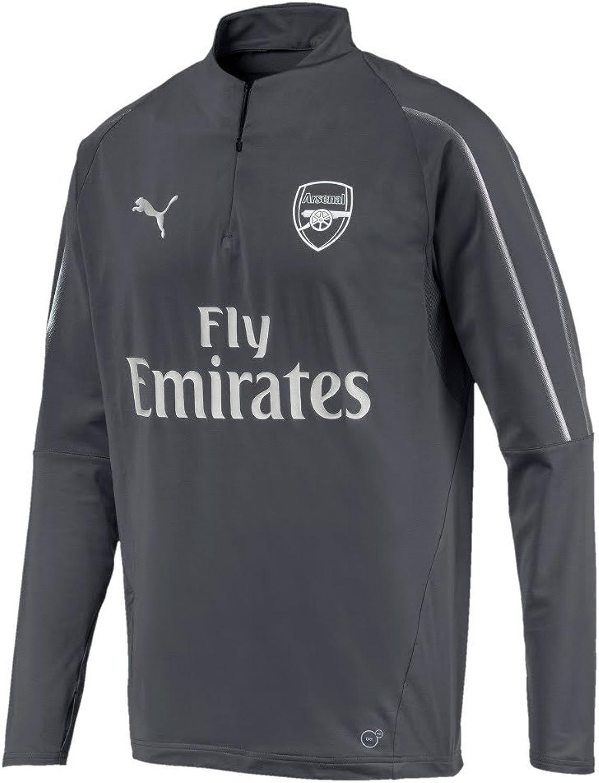 PUMA 20182019 Arsenal Half Zip Training Top (Iron Gate)