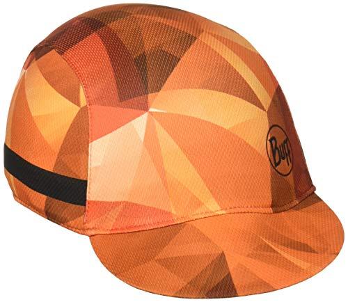 Buff Oranje-Flame Pack Bike Cap Running Trekking Baseballcap Sportcap Outdoor cap achter gesloten