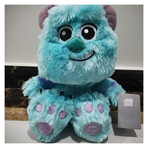 Letaowl Peluche Sentado 28 cm Monstruos Juguetes de Peluche, bebé Sulley Sullivan Animales Rellenos Suaves Muñeca Niños (Color : Blue, Height : Sitting 28cm)