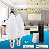 Zoom IMG-2 chrikky 2x lampadine alexa wifi