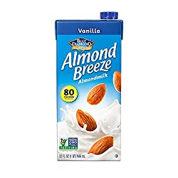 Almond Breeze Dairy Free Almondmilk, Vanilla, 32 Fluid Ounce