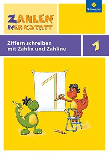 Zahlenwerkstatt Welt der Zahl: Zahlenwerkstatt - Poster und mehr: Ziffernschreibkurs